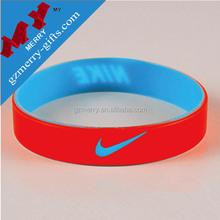 Sport Brand wrist band / silicon bracelet / rubber wristband