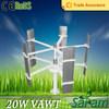 Mini 20W 12V 24V wind turbine for home use