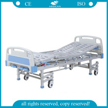 AG-BMS008 Four legs with four 100mm wheels used nursing home beds