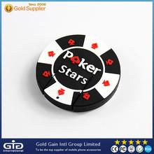 [GGIT] High Quality Waterproof 8GB PVC Poker Star USB Memory Stick