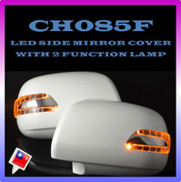 FOR TOYOTA INNOVA VIGO HILUX OF CH085F LED CAR SIDE MIRROR COVER