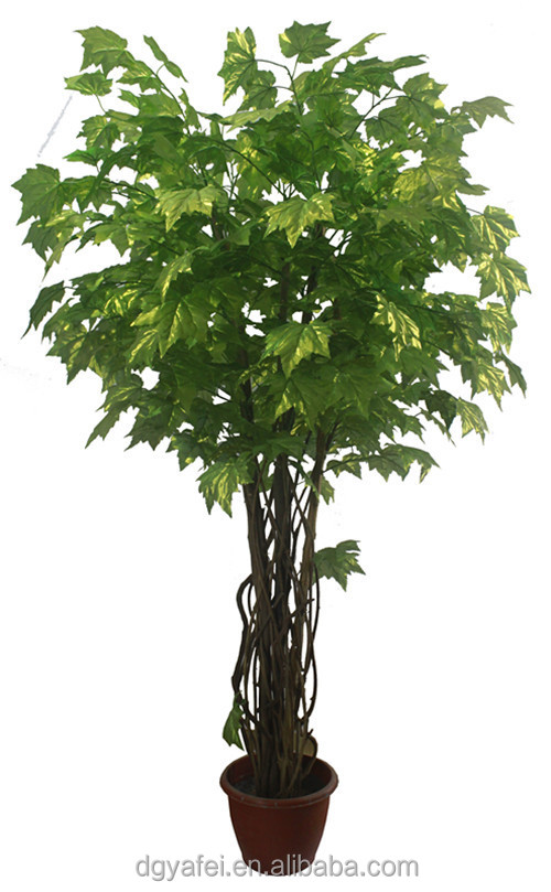 New d coratif r aliste artificielle mini bonsa arbres for Plante verte haute exterieur