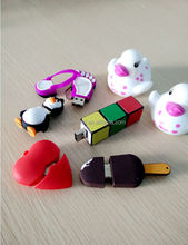 customized cartoon USB flash drive cute high quality USB flash drive