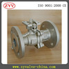 Hard seal WCB material flanged end ball valve