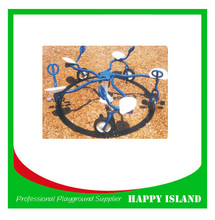 Outdoor Fitness Equipment Turntable Playground Outdoor Children Turntable Garden Children Play Equipment