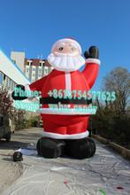 6m gaint cartoon character Santa Claus inflatable advertising C-035