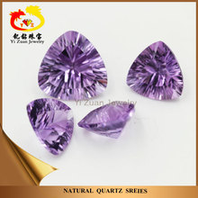 Lowest Cost High Quality Natural Gemstone Amethyst Millenium Cut Amethyst Carving Stones