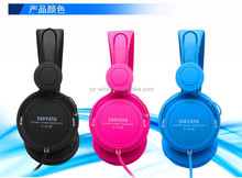 2015 Best Quality stereo leather headphone mp3