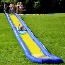 huge inflatable outdoor lawn water slide for backyard