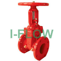 UL FM 200PSI-OS&Y Type Flanged End Gate Valve