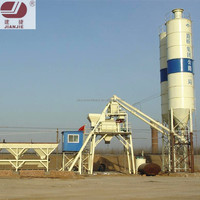 HZS25 high efficiency ready mixed concrete batching plant for sale