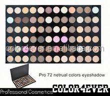 Cosmetics China 72 color eyeshadow,lipgloss,eyebrow in makeup kits fashion eyeshadow
