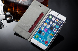 "Dot Matrix PU Leather mobile phone flip Cases cover for iPhone 4.6""5.5"""