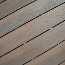 New product latest balcony flooring wood plastic, wood plastic patio floors, exterior wood plastic composite flooring