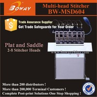 MSD604 multi stitcher paper flat and saddle stitch sewing machine