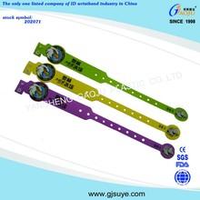 GJ-8050-02 custom cheap id band/disposable id bracelets