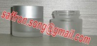 5ml Sample frosted glass cosmetic jar with cap