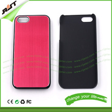 factory supply plain hard plastic phone cases for iphone 5 5s, case for cell phone