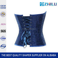 2015 Wholesale professional body shaper cheap waist training corsets