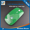 2.4Ghz Computer Led Wireless Mouse With Laser Engraving logo