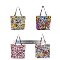 New style canvas beach cotton tote bags wholesale