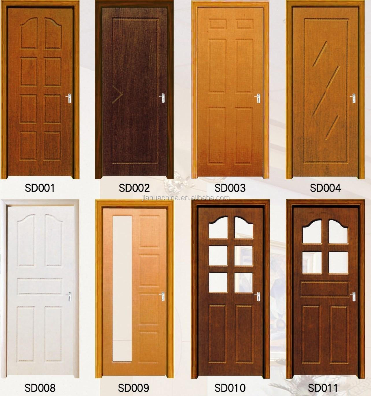 New trends anti theft teak wood main door design view for New main door