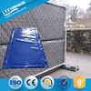 Noise Cancelling Barrier for Steel Fencing