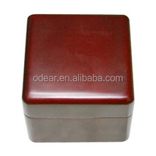 top grade red wooden video jewelry box