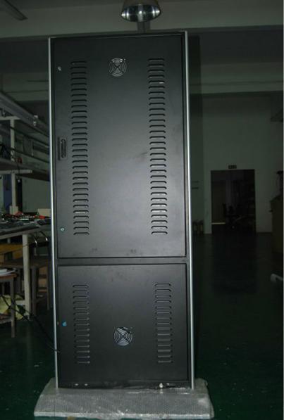 풀 HD 1080p의 Wi-Fi 인터넷에 지어진, 이더넷 슬림 42 인치 터치 스크린 키오스크 제조업체