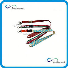 Customized high quality music lanyard with client logo