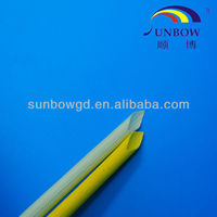 SUNBOW Fabricated UL Approved 1.2KV Heat Treat Fiberglass Sleeving