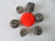 produced by fatory cleaning ball for kitchen cleaning