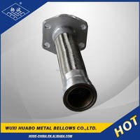 Yang bo pipe metal bellow with flange end