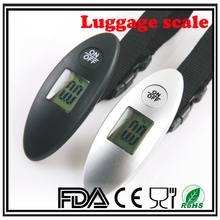 40kg white black gray yellow sliver Primark luggage portable travel electronic digital luggage scale