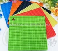 orange silicone heat-resistant kitchen mats