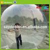 inflatable crystal snow globe polymer jumbo water bouncing ball