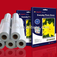 Quality Audited Factory Sell 115gsm High Glossy Inkjet Paper A4