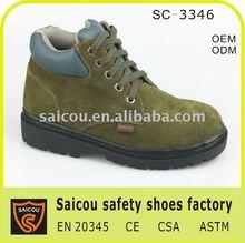 Senhoras biqueira de aço calçados de segurança de fábrica sc-3346