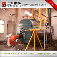 China gas/oil fired steam boiler price