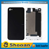 100% original for iphone 4s rear back glass cover,protect back cover for iphone 4s