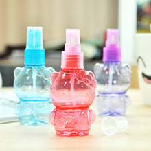 High Quality 30ml Travel Perfume Atomizer Refillable Spray Bear Shape Empty Bottle Portable Travel Makeup Cosmetic Bottle