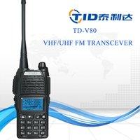 TD-V80 Police walkie talkie bfdx bf-3000 vhf/uhf duplex repeater