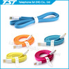 TST colorful flat micro usb cable