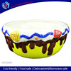 bright-colorde ice-cream design ceramic vegetable dish,ceramic fruit plate,candy plate
