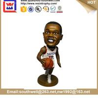Polyresin NBA Basketball Player Bobblehead Figurine craft