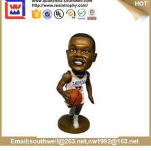 Polyresin NBA Basketball Player Bobblehead Figurine craft