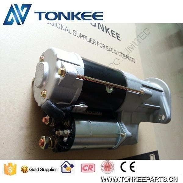 ISUZU 4HK1 starter motor for HITACHI ZX210-3 898070-3211 (2)