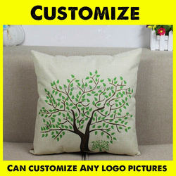 Hot-selling Custom Design Print Cotton Outdoor Hanging Chair Cushion Cover,Different Colors Avail Pillows