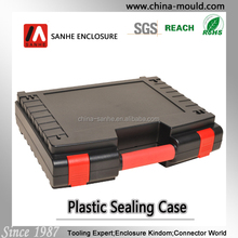 45-28 small black plastic equipment carrying case