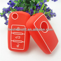 Remote Shell Cover For car silicone car key case silicone shell for key